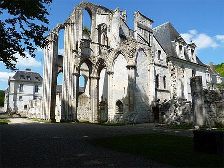 Abbaye saint wandrille 1