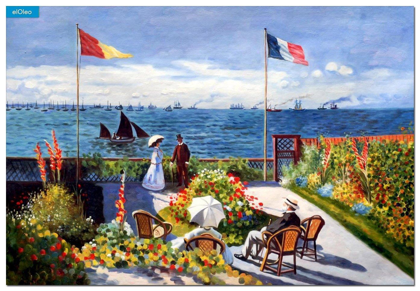 """Qui a peint le tableau """"Terrasse à Saint Adresse"""" ?"""
