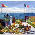 Monet terrasse saint adresse